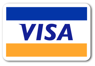 We accept Visa Cards